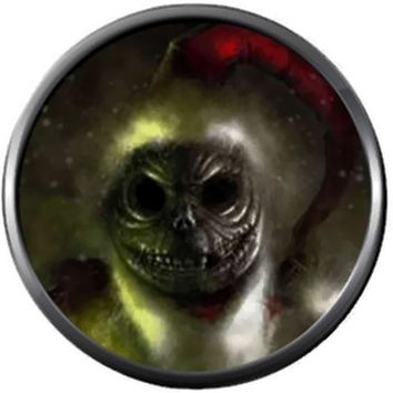 Santa Clause Jack Skellington Scary Face Halloween Town Nightmare Before Christmas 18MM - 20MM Charm for Snap Jewelry New Item