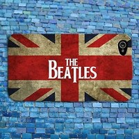 Cute Union Jack Flag Music The Beatles Phone Case iPhone 4 4s iPhone 5 5s 5c 6 +