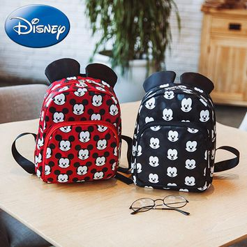 Baby Care Nappy Changing Disney Mickey Mouse Children Cartoon Plush Doll Purse Coin Keychain Pendant Bag Stuffed Packet Plush Card Package Kid Coin Bag