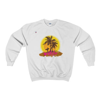 Hawaii Aloha Style Heavy Blend™ Adult Crewneck Sweatshirt