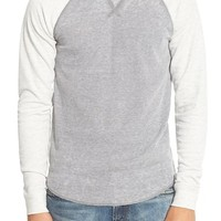 The Rail Trim Fit Colorblock Crewneck Thermal | Nordstrom