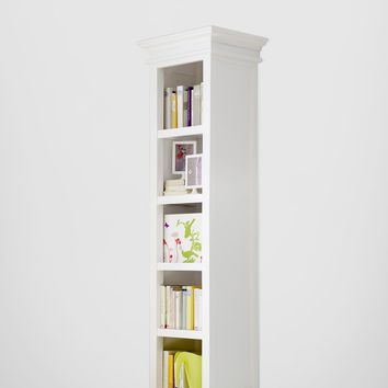 Halifax French Countryside Bookshelf White Semi-gloss
