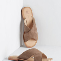 BC Footwear Way of the Wharf Sandal in Taupe | Mod Retro Vintage Sandals | ModCloth.com