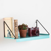 Blue Metal Shelf at Urban Outfitters