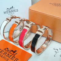 Hermes H Cuff from Patsy's Pink Sparkle