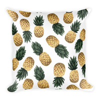 Pineapple Pattern Square Pillow