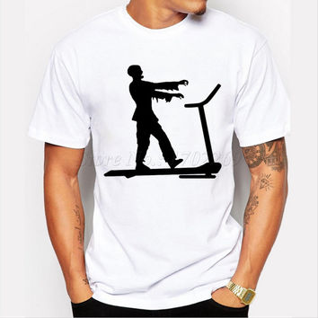 The Walking Dead Zombie Treadmill Shirt