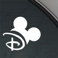 DISNEY Decal MOUSEKETEER MAGIC KINGDOM Car Sticker