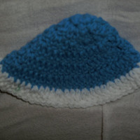 Handmade crocheted Chanukah Yamulke by CanadianCraftCritter
