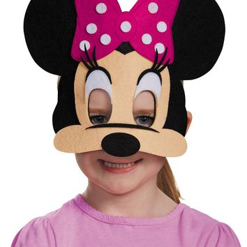 Minnie Mouse Pink Felt Mask Mask for Halloween