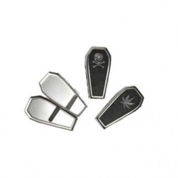 Coffin Shaped Metal Cigarette Case - Stash Gear, Tins and Boxes - Smoking Accessories - Grasscity.com