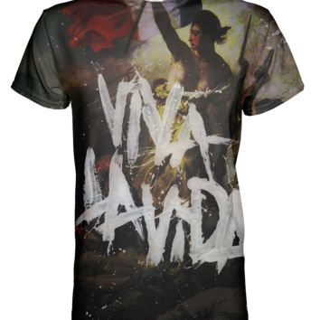 Coldplay Viva La Vida All Over Print T-shirt
