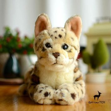 Leopard Stuffed Animal Plush Toy 11""