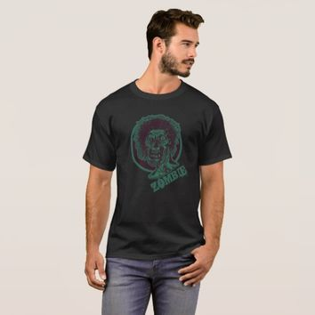 Zombie - Teal Green T-Shirt