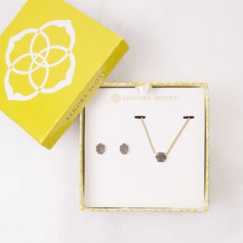 Platinum Drusy Gift Set - Kendra Scott Jewelry