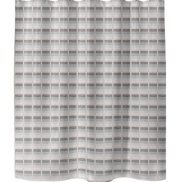TILED PINK Shower Curtain By Tiffany Wong