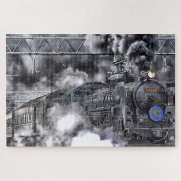 Train Locomotive Jigsaw Puzzle