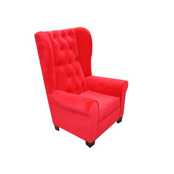 Komfy Kings, Inc 12644 Newco Kids Red Velvet 33.5-Inch Mirage Chair