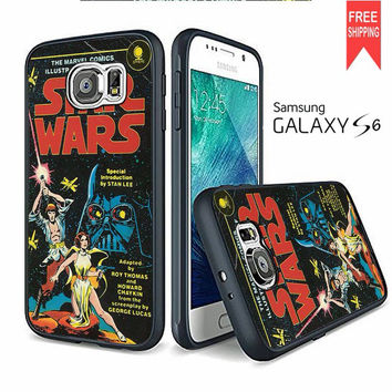 Star Wars Cover Movie Samsung Galaxy S6 edge Case