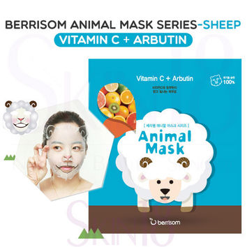 Berrisom Animal Mask series - Sheep (Vitamin C + Arbutin)