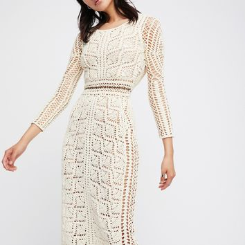 Free People Maya Crochet Tunic