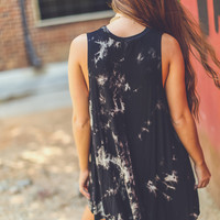 Down To Earth Dress in Black