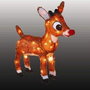 Christmas Yard Art - Rudolph