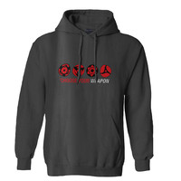 Sharingan choose your weapon Mens Hoodie and Womens Hoodie