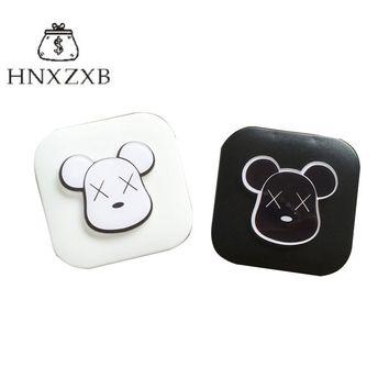 HNXZXB  Man, Madam Contact Lenses Storage Box Cartoon Contact lens Case Eyes Care Kit Holder Travel Washer Cleaner Container