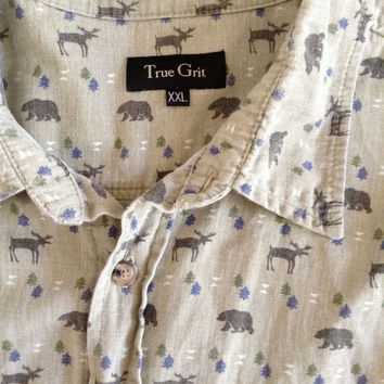 Vintage Bear True Grit Shirt