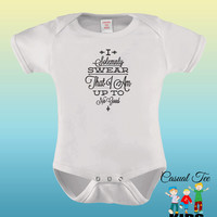I Solemnly Swear That I Am Up To No Good EMBROIDERED Baby Bodysuit / Toddler Tshirt