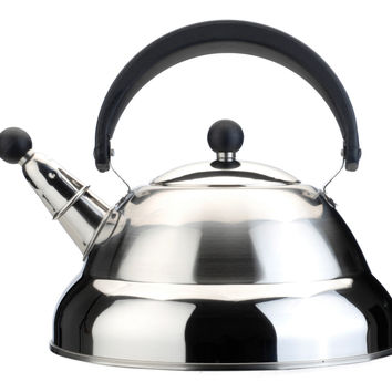 MELODY Stainless Steel Whistling Tea Kettle 2.7qt. (2.6 l)