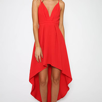 Somebody To Love Dress - Red