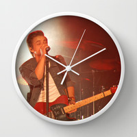 Hunter Hayes (Bloomsburg PA 2013) Wall Clock by Michelle Albert