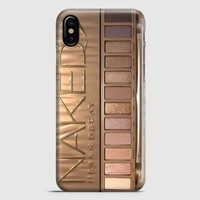 Naked Urban Decay Palette Inspired iPhone X Case
