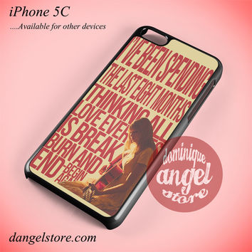 Taylor Swift Lyric Phone case for iPhone 5C and another iPhone devices