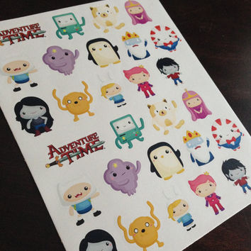Adventure Time Sticker Set