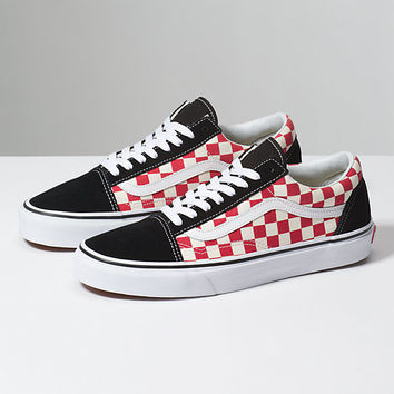 Checkerboard Old Skool | Shop At Vans