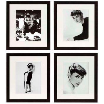Eichholtz Audrey Hepburn Print (set of 4)