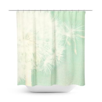 Spearmint Shower Curtain