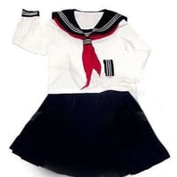 Japanese Japan School Girl Uniform Cosplay Costume NEW  (DISCOUNT)