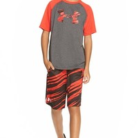 Boy's Under Armour 'Big Logo' T-Shirt,
