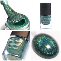 Holographic Holo Glitter Nail Polish Varnish Hologram Effect 12#