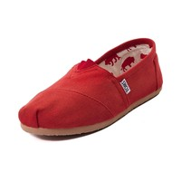Womens TOMS Classic Slip-On Casual Shoe