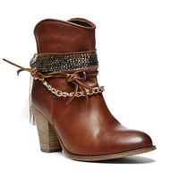Steve Madden - ROOTS COGNAC LEATHER