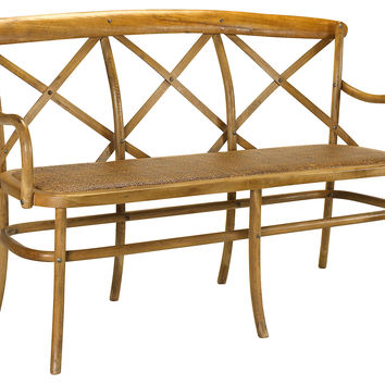 French Heritage, Bosquet Three-Seater Bench, Entryway Bench