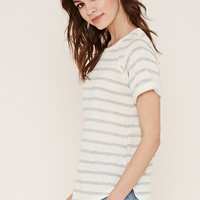 Striped French Terry Top | Forever 21 - 2000203424