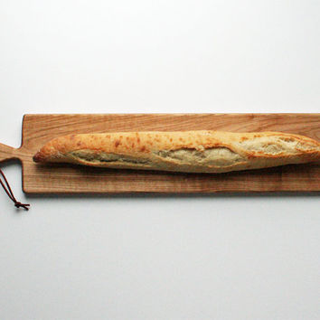 French Loaf Bread Board- Oak Cheese Board