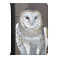 Barn Owl Photo Kindle Case