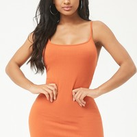 Ribbed Bodycon Cami Dress